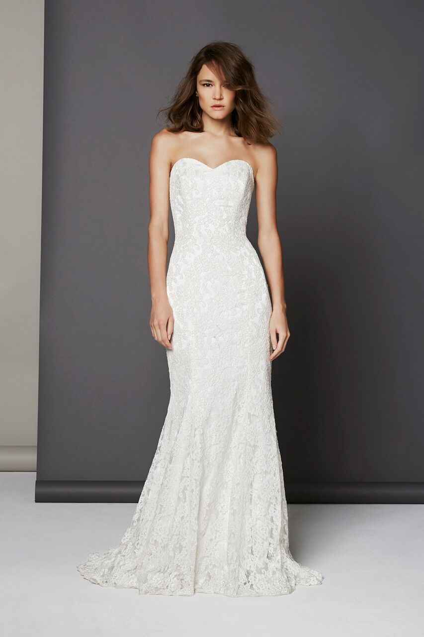Orchid Lace Wedding Dress