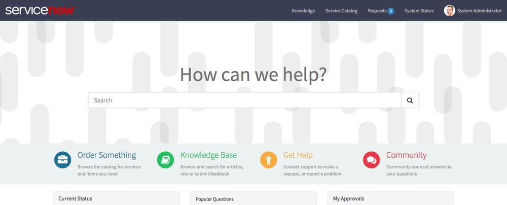 service portal first impressions code creative a servicenow blog