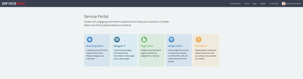 what s in a service portal on servicenow code creative a