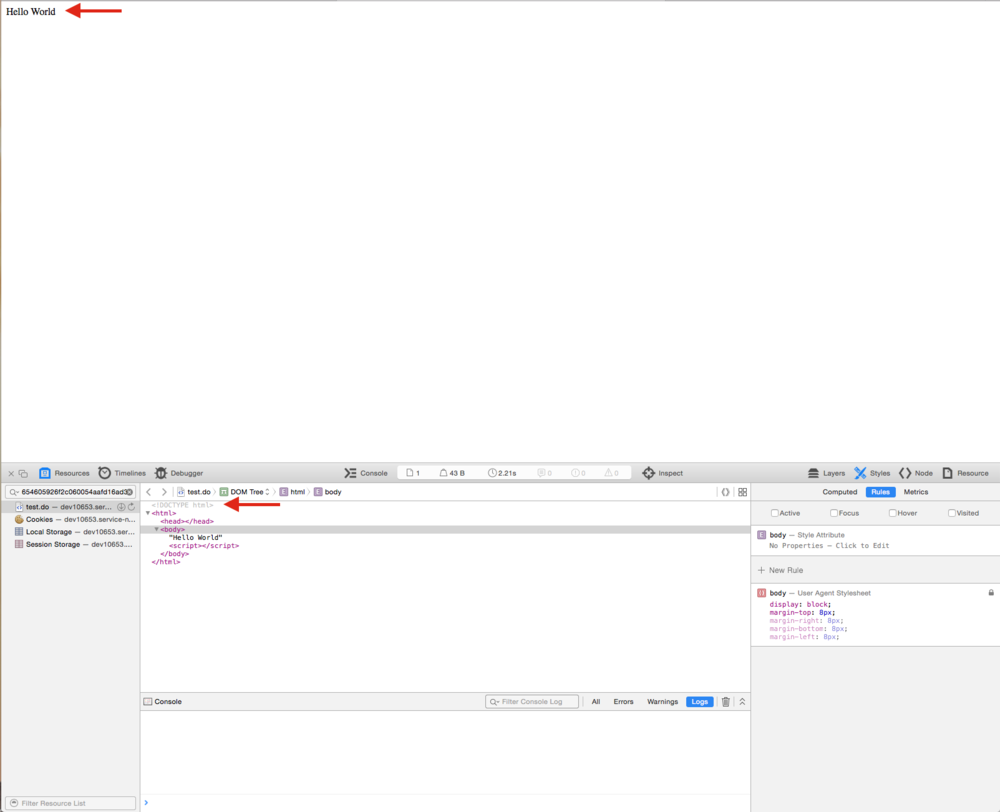 servicenow ui page doctype success.png