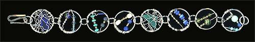 Wire Wrap Bracelets. Sterling, 2006-08