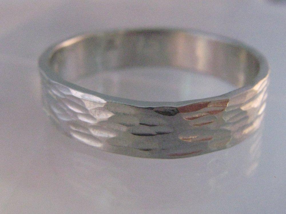 Textured Palladium Ring 2012
