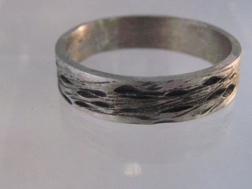 Oxidized Palladium Ring 2012