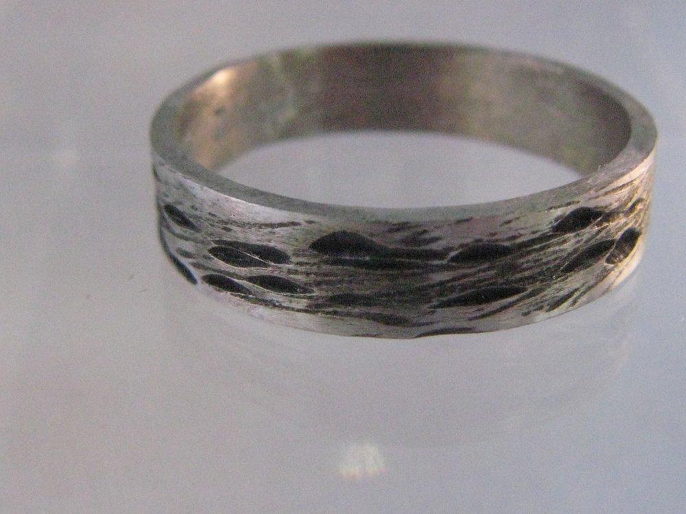 Oxidized Palladium Ring 2012