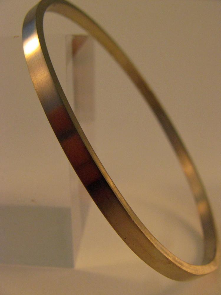 14k White Gold Bangle 2013