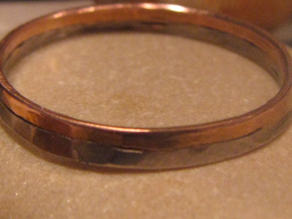Palladium & 14k Rose Gold Wedding Band. 2012?