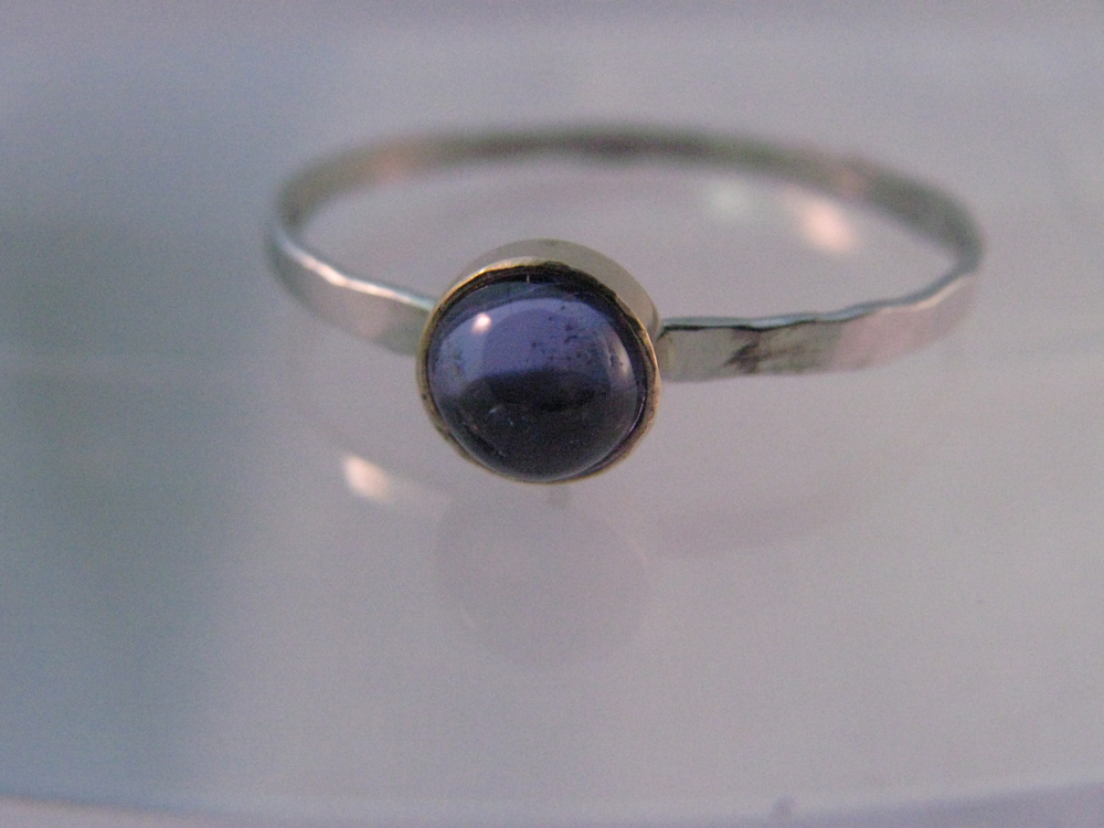 Platinum, 14k Gold, Tanzanite Ring. 2012