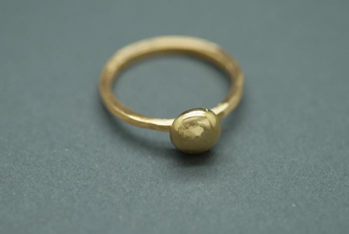22k Stone Ring