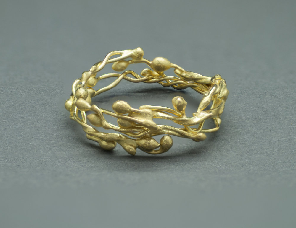 22k One-of-a-Kind Ring Band. From the OOAKs Collection.