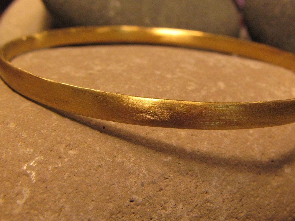 22k gold sanded bangle 2013.jpg