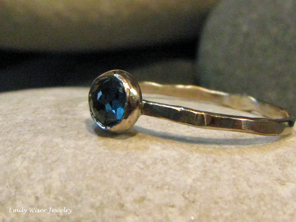 white gold blue topaz rose cut stack ring.jpg