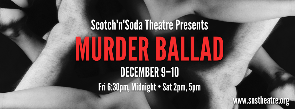 The Facebook cover photo, which gave production members and Scotch'n'Soda members an easy way to promote the show to their friends online.