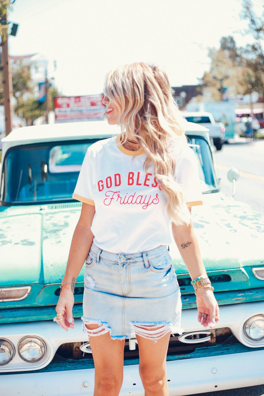 This tee is from Cloth + Palm and they are having a sale this weekend!