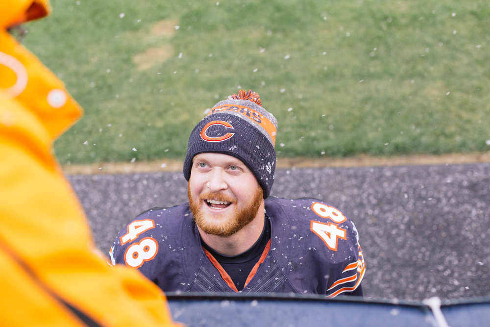 Patrick Scales Chicago Bears, Lifestyle Blogger, Embracing Messiness