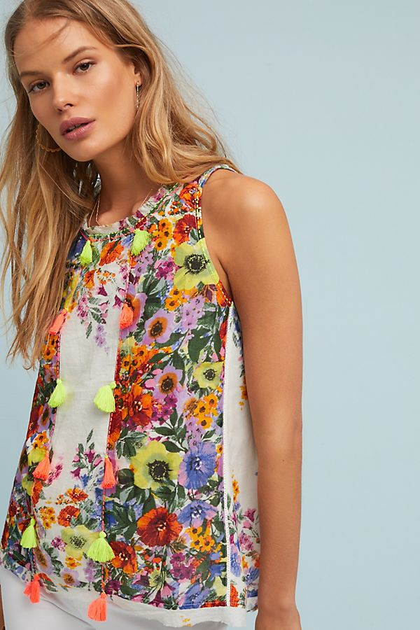 Floral Swing Blouse, Anthropologie