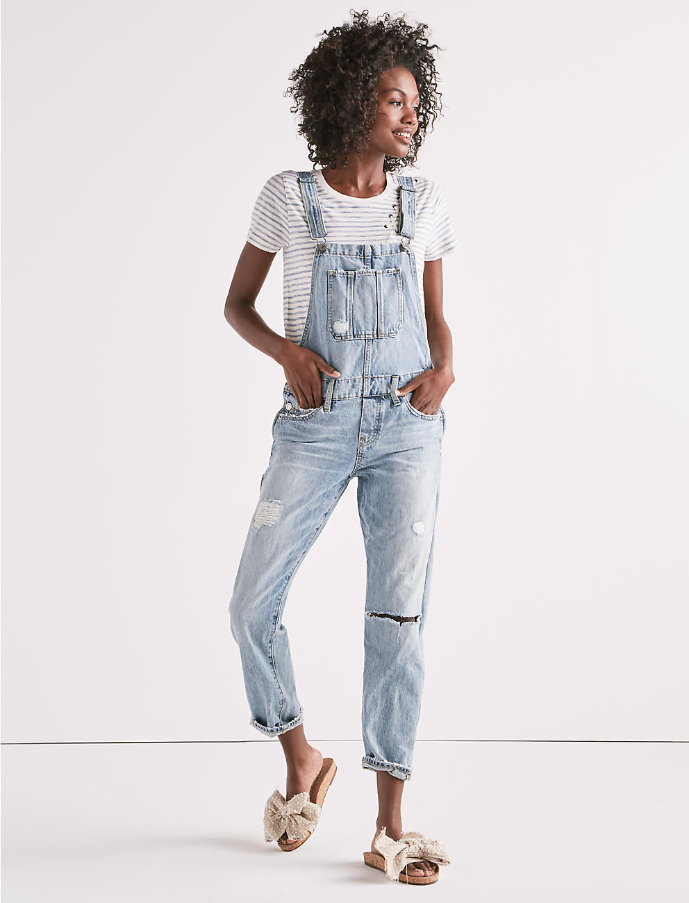 The Boyfriend Overal,l Lucky Brand, Overall