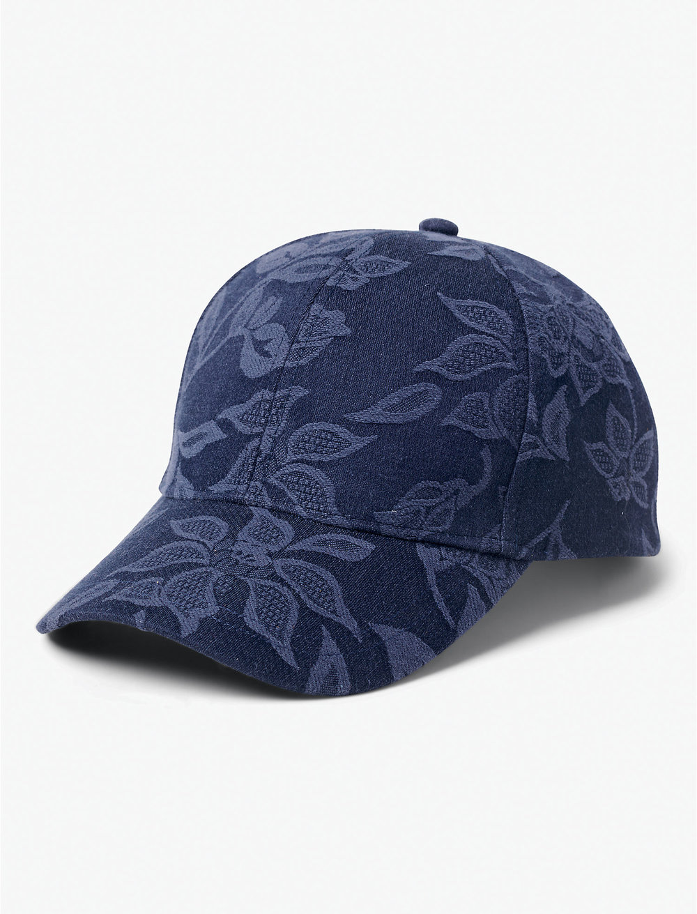 Lucky Brand Floral Embroidered Baseball Hat