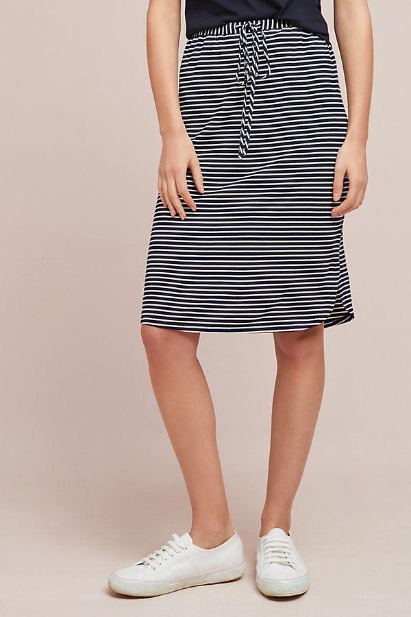 Sunday in Brooklyn Striped Knit Skirt