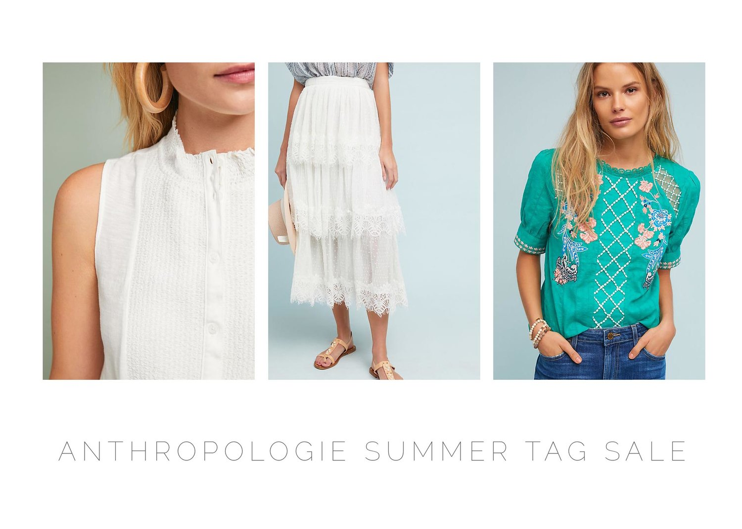 1a1f32a9764 Anthropologie Summer Tag Sale Round Up — Embracing Messiness
