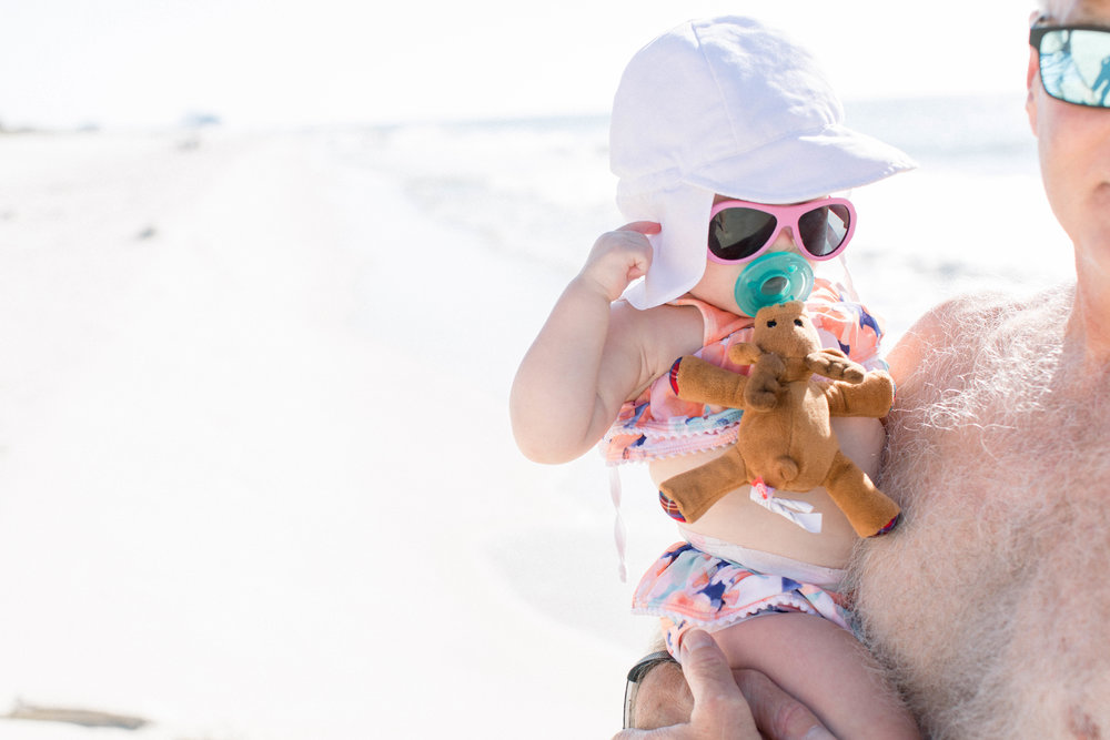Baby Beach Bum, Embracing Messiness