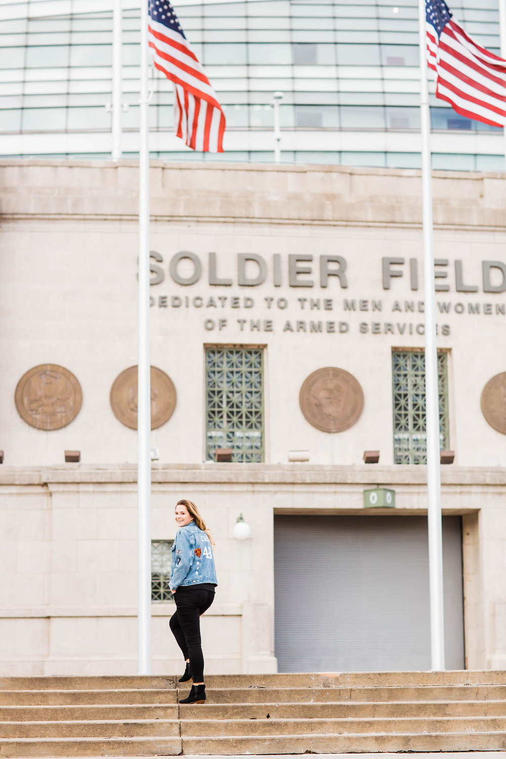 Soldier Field, NFL Wife, Lifestyle Blogger