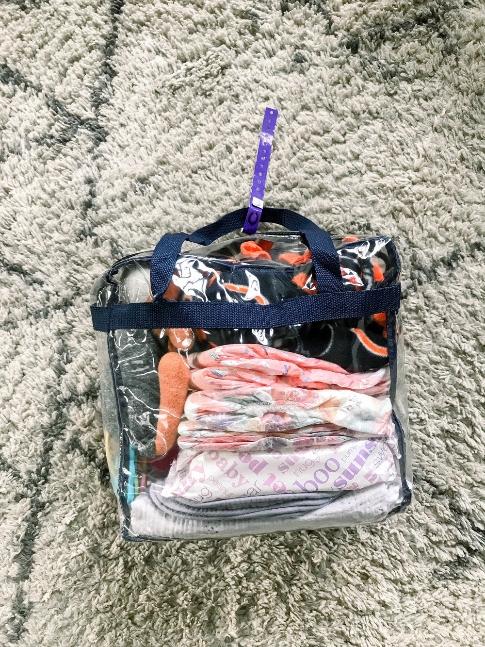 All Clear Bag, what to pack