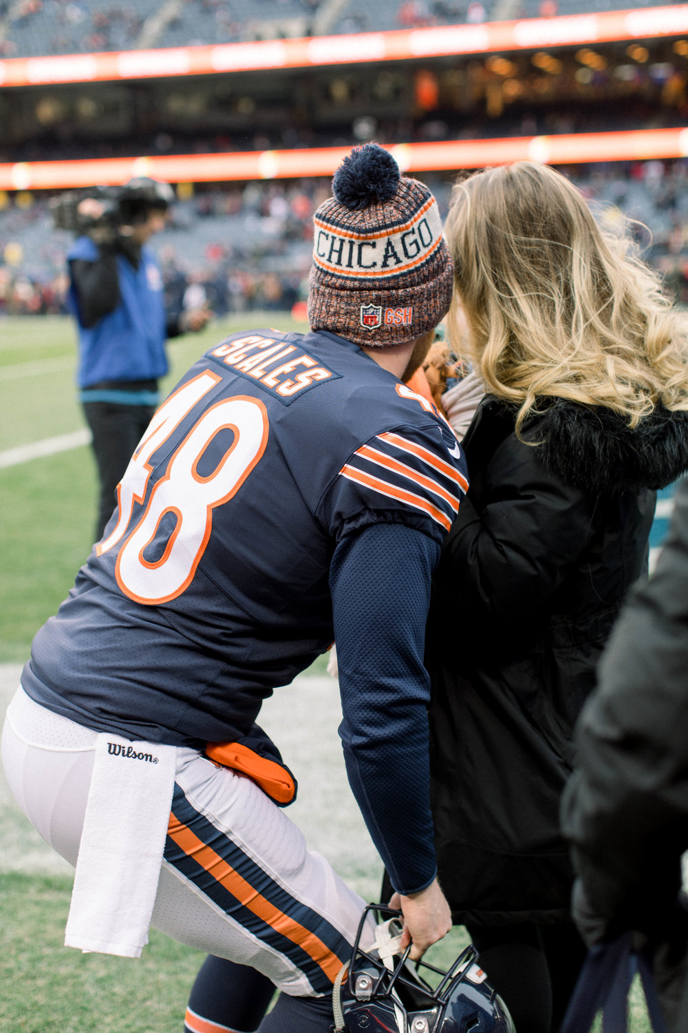 Chicago Bears Family, Patrick Scales