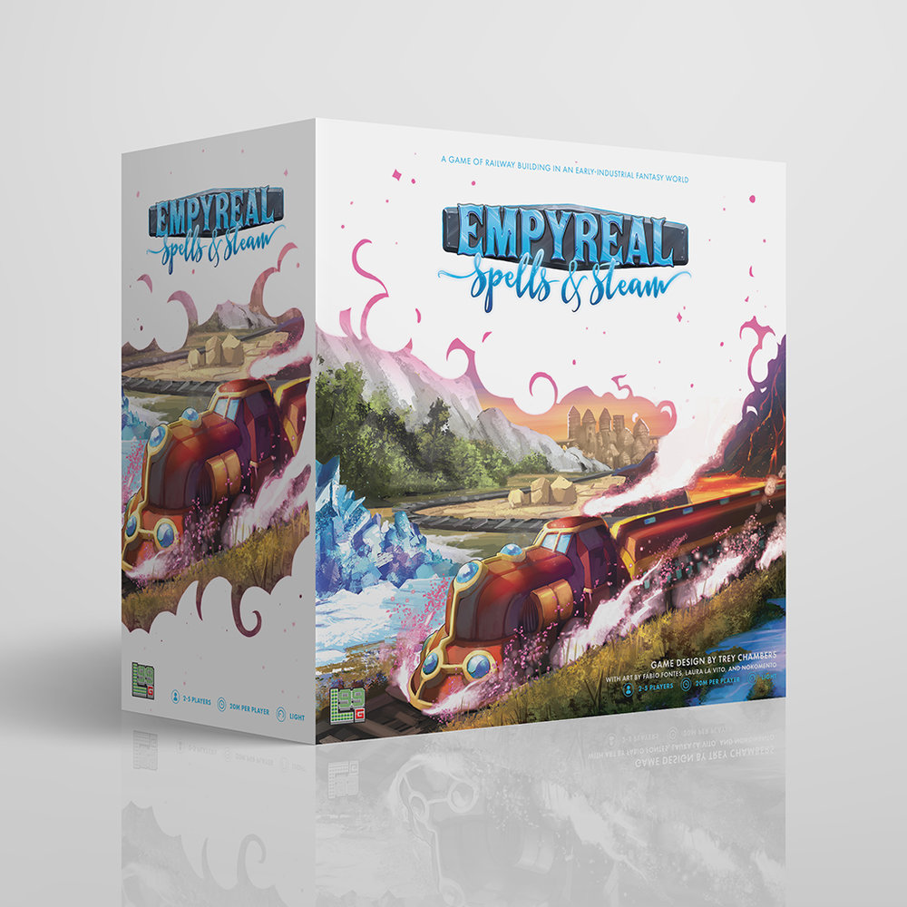 Empyreal Spells Steam Box Preview Level 99 Games