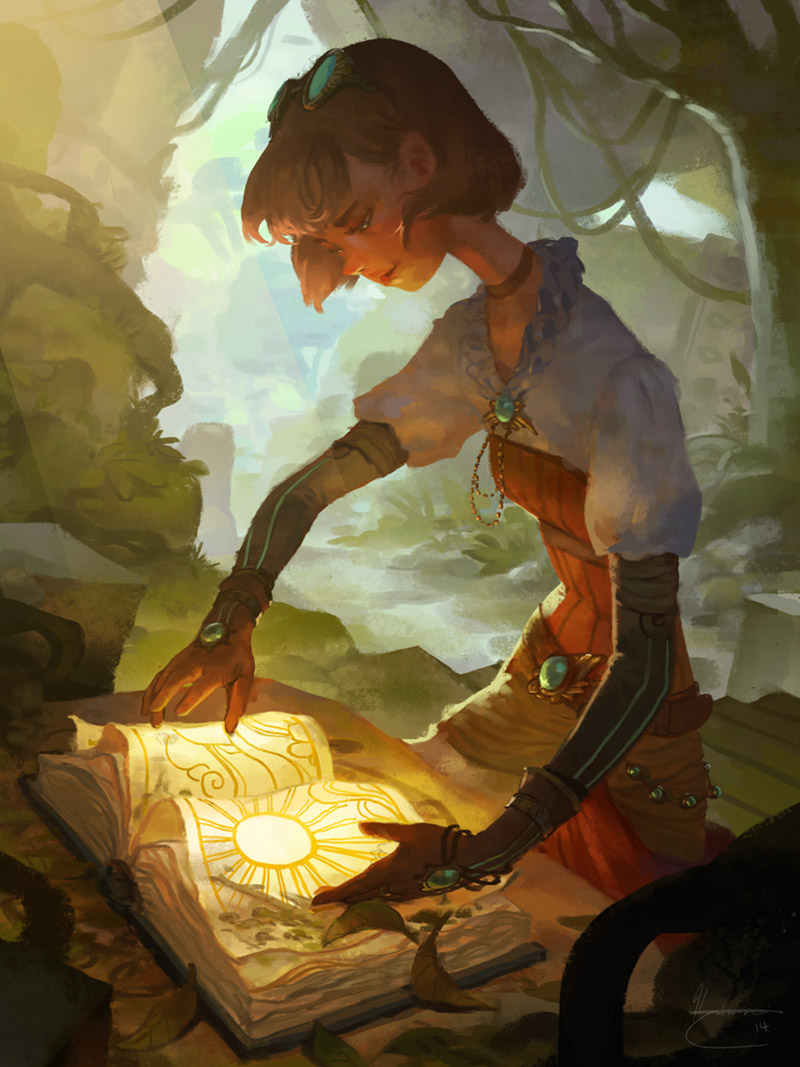 A great game is a treasure you can rediscover again and again.  Art by Katrina Lin.