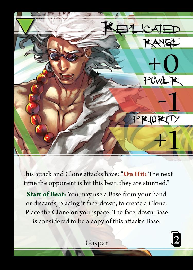 Wait, Gaspar has card advantage? How?!