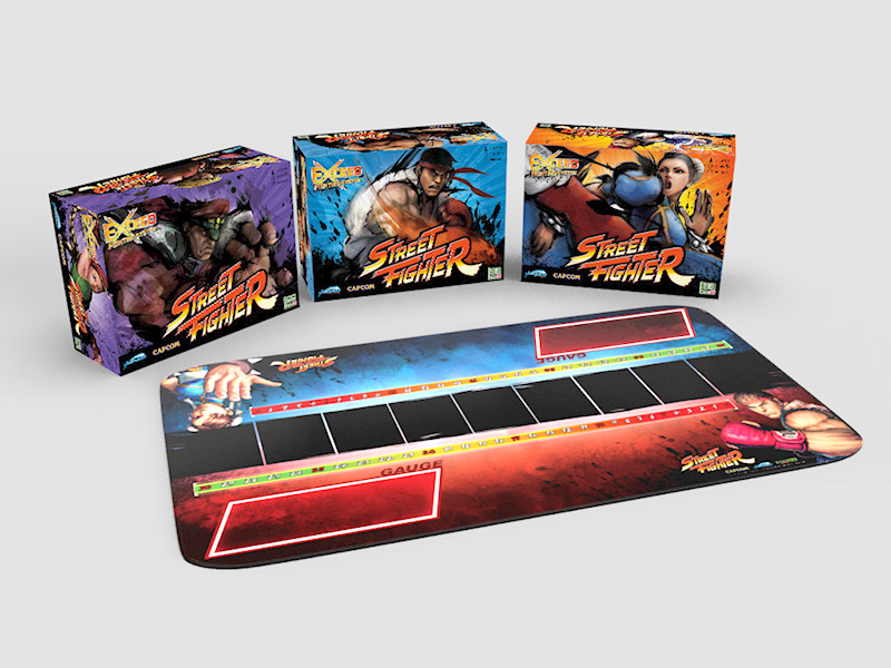 e976a83b83f3f6 Exceed Season 3 - Street Fighter - Now Available for Pre-Order ...