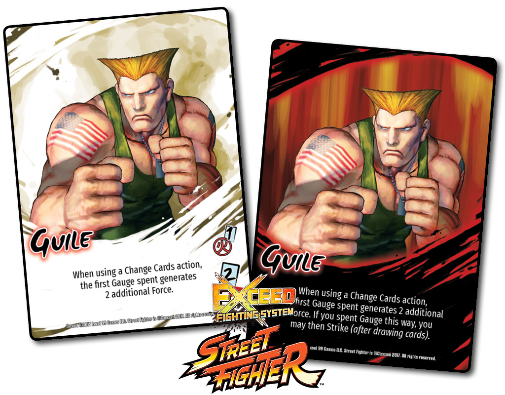 Street Fighter Preview Guile Level 99 Games