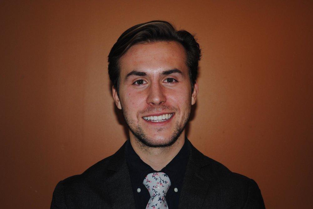 Corresponding Secretary   -  Jarrod Ferstl    Hometown : Dayton, OH   Major : Marketing   Minor : Sociology   Class of 2020