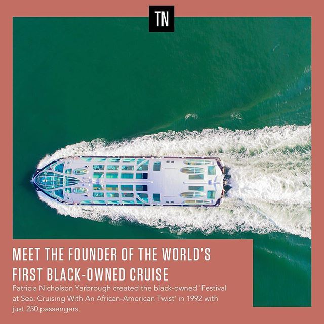 😳: ...mom? — 🏖: @travelnoire thank you so much for taking the time out to interview my mother about @festivalatsea! She's an #icon living. Head over to their page and read about it! — #repost: Would you go on a cruise tailored specifically to black travelers? Learn more about Festival at Sea: Cruising With An African- American Twist. Link in bio // #travelnoire