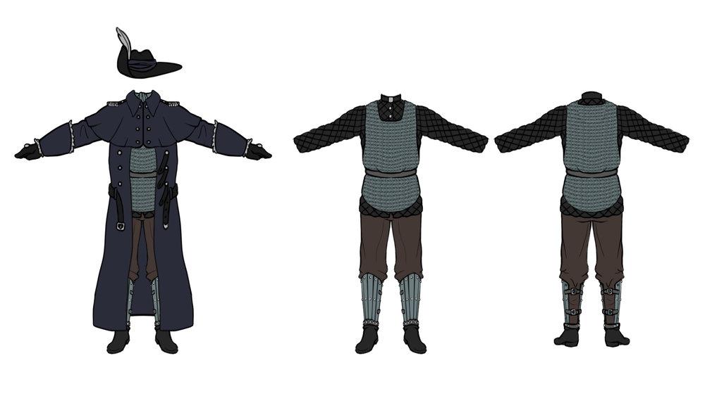 Corporeal Uniform
