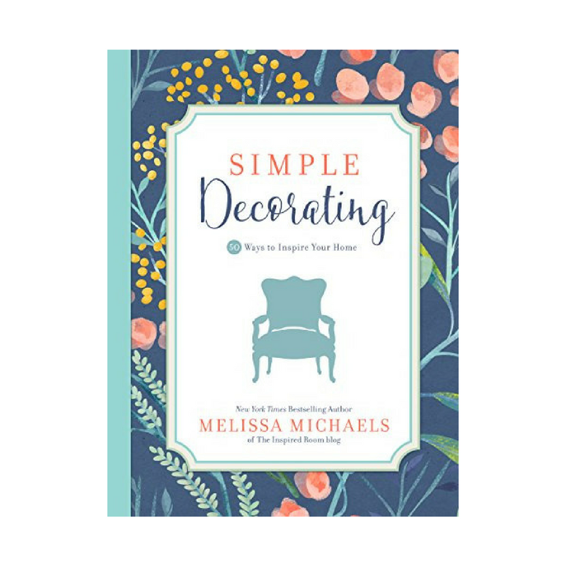 Simple Decorating || One Book Blog