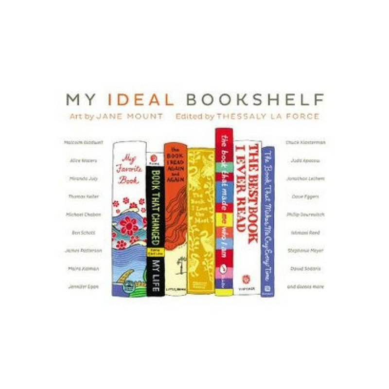 My Ideal Bookshelf || One Book Blog
