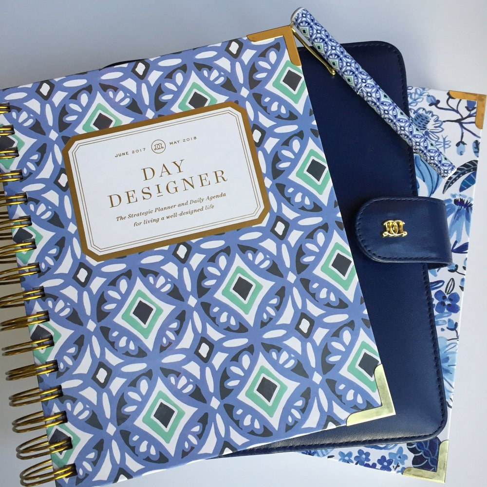 Day Designer Daily Mini, the A5 Luxe Binder, and the Daily Flagship.