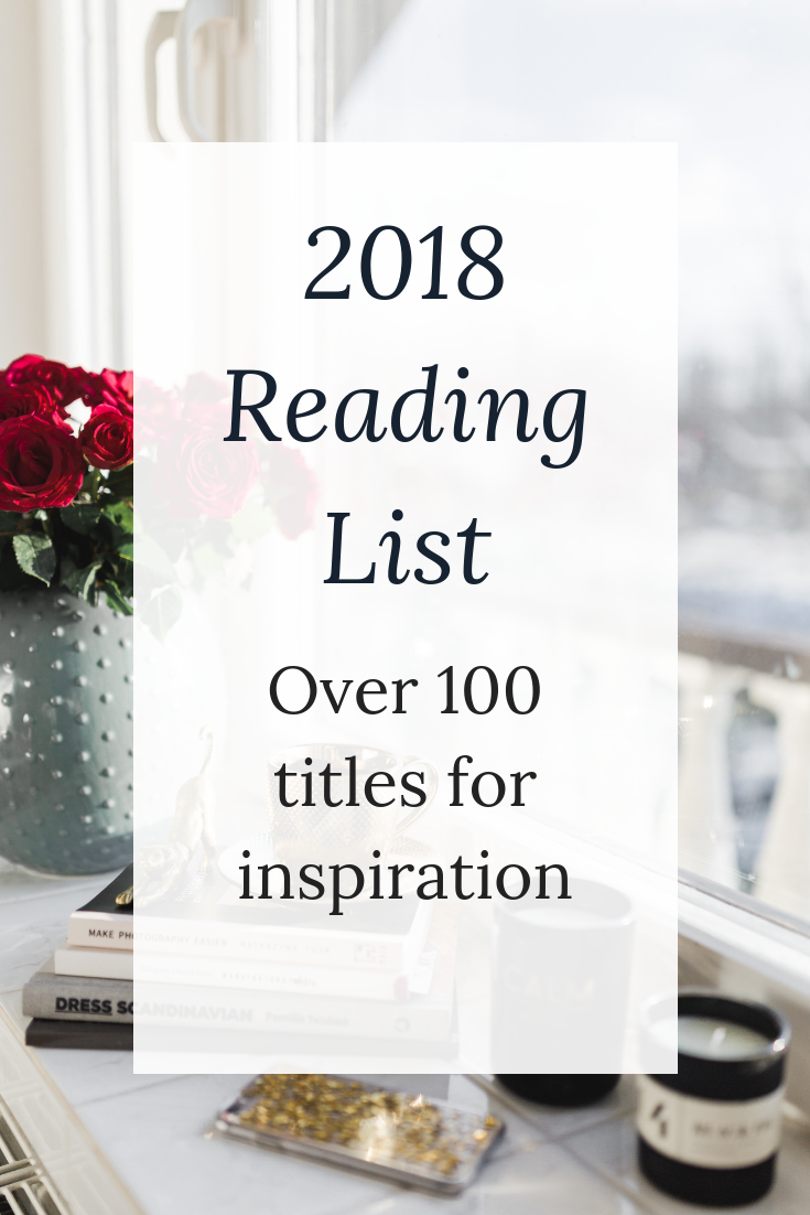2018 Reading List for Words With Jennifer A Nonfiction book blog