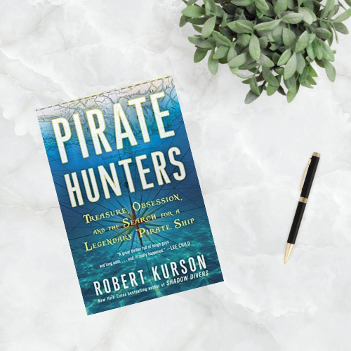 Pirate Hunter by Robert Kurson || March 2019 Reading Wrap-Up || Words With Jennifer