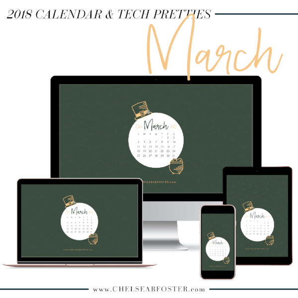 March Tech Pretties are now on ChelseaBFoster.com