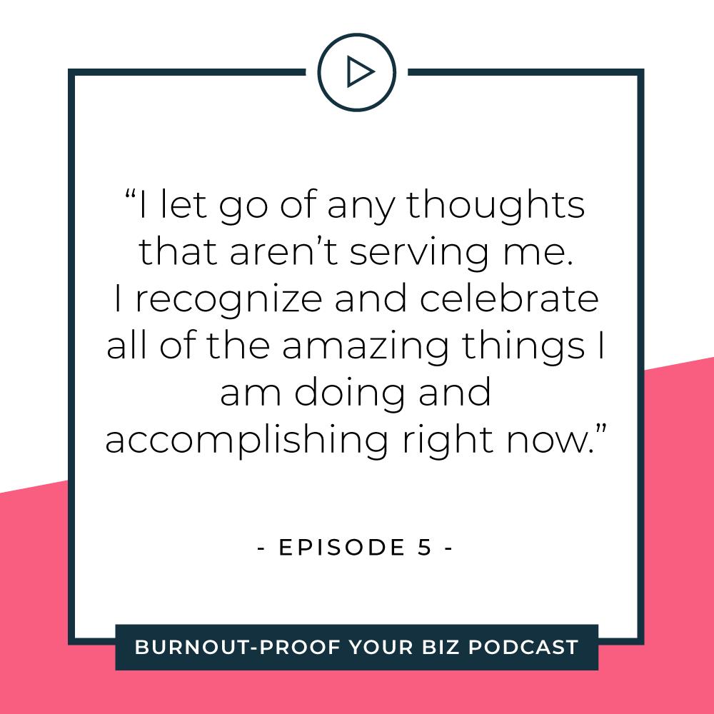 Your Permission Slip | Episode 5 of Burnout-Proof Your Biz with Chelsea B Foster | Listen at www.burnoutproofyourbiz.com.