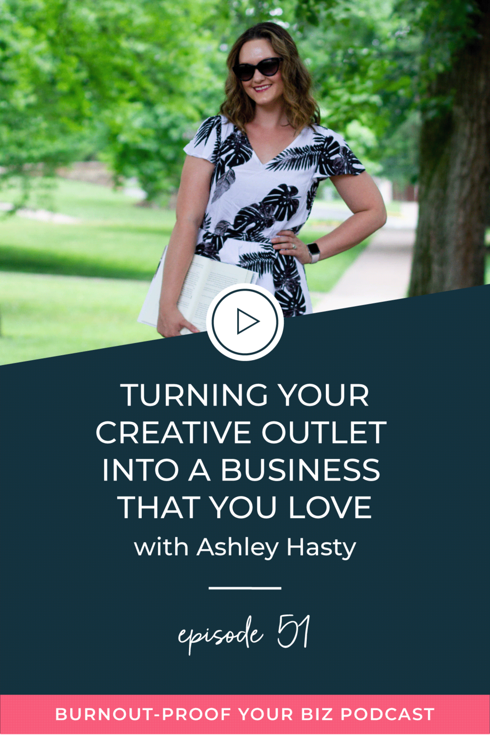 Burnout-Proof Your Biz Podcast with Chelsea B Foster   Episode 051 - Turning Your Creative Outlet Into a Business that You Love with Ashley Hasty of Hasty Book List   Learn how to run your biz and live your dream life on your own terms without the fear of burnout.      FINDING YOUR CREATIVE OUTLET   HOBBY TO BUSINESS   HOBBY OR BUSINESS   CREATING A BUSINESS YOU LOVE   FINDING JOY   SPARK JOY   WHAT TO DO WHEN YOU'RE BURNING OUT   LETTING GO OF SOMETHING YOU LOVE BUT ISN'T WORKING   GOING FROM PART-TIME BLOGGER TO FULL-TIME BLOGGER   BLOGGER ORGANIZATION   ORGANIZATION FOR BLOGGERS   HOW TO ORGANIZE YOUR CONTENT CALENDAR   HOW TO TURN YOUR HOBBY OF READING INTO A BUSINESS   BUSINESS COACH   WORKFLOW & PRODUCTIVITY SPECIALIST   SYSTEMS & ORGANIZATION SPECIALIST FOR COACHES   ADD MORE FREEDOM TO YOUR LIFE   BUSINESS COACH FOR BLOGGERS