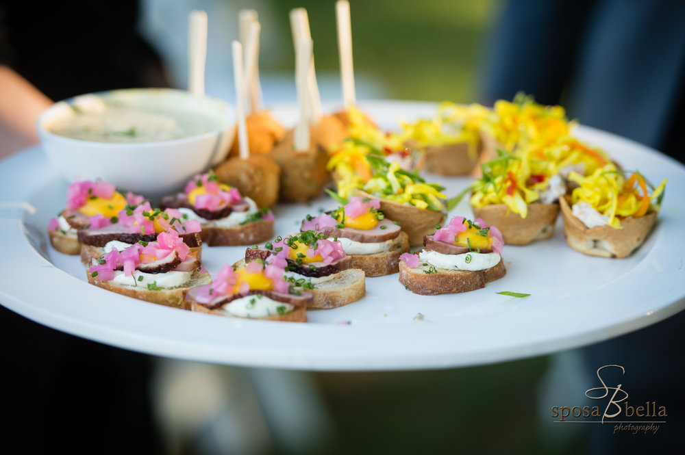 The Farm has inhouse catering services to provide couples unique food options that will delight their guests.