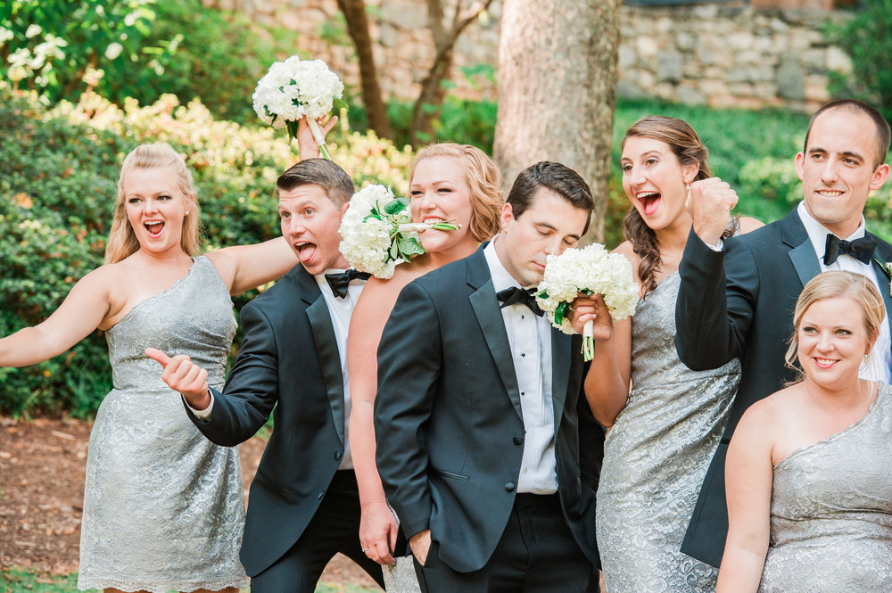 Ashley & Mark had one of thee most fun wedding parties!