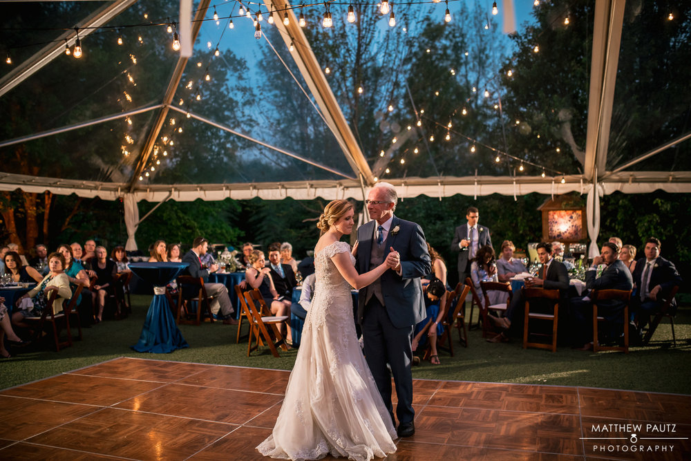 Besides Brandon, Whitney has two other special men in her life, her father & stepfather. She chose to dance with both gentlemen on her wedding day.