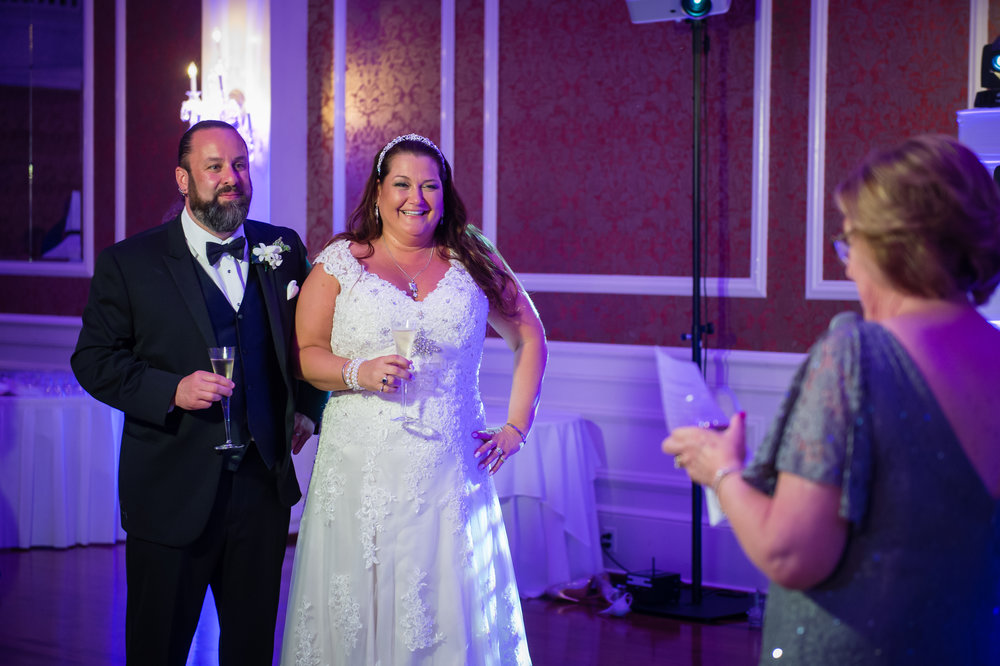 Mark & Kim are loved by some many people. Several special people in their life requested to say a few words to the newlyweds.