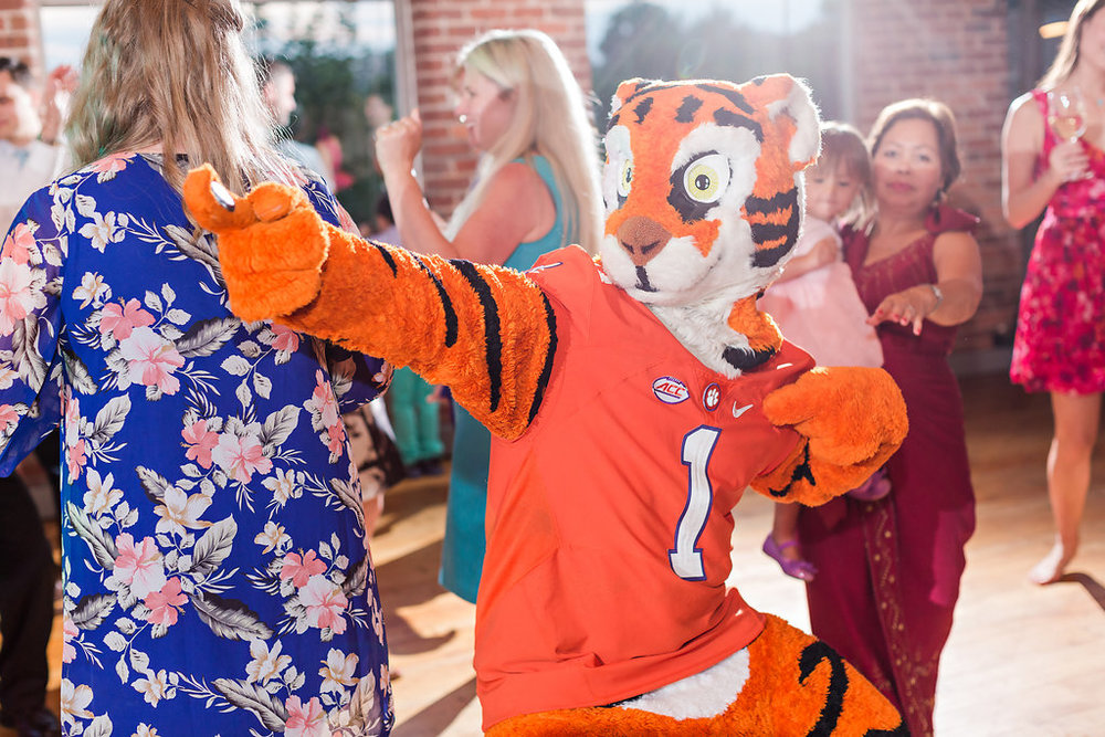 The Tiger is always a great wedding addition!
