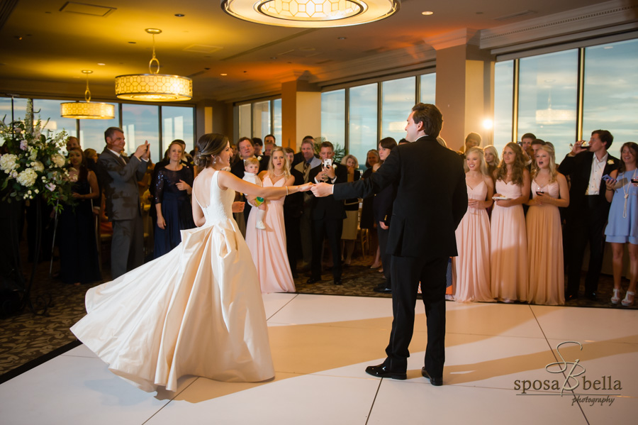 "Meghan and Andrew's romantic first dance to ""Perfect"" by Ed Sheeran."