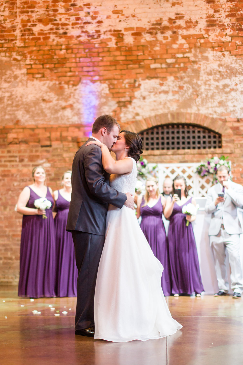 "Lee's Brice's ""I Don't Dance"" was the perfect song for their First Dance. Love that song!"